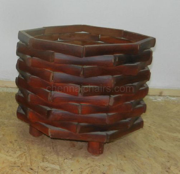 Picture of Angler Bamboo Flower Pot