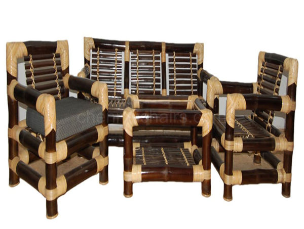 Picture of Berge Bamboo Sofa Set