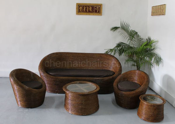 Picture of Breamy Cane Sofa Set