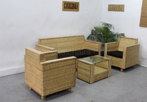 Picture of Basslet Wicker Sofa Set