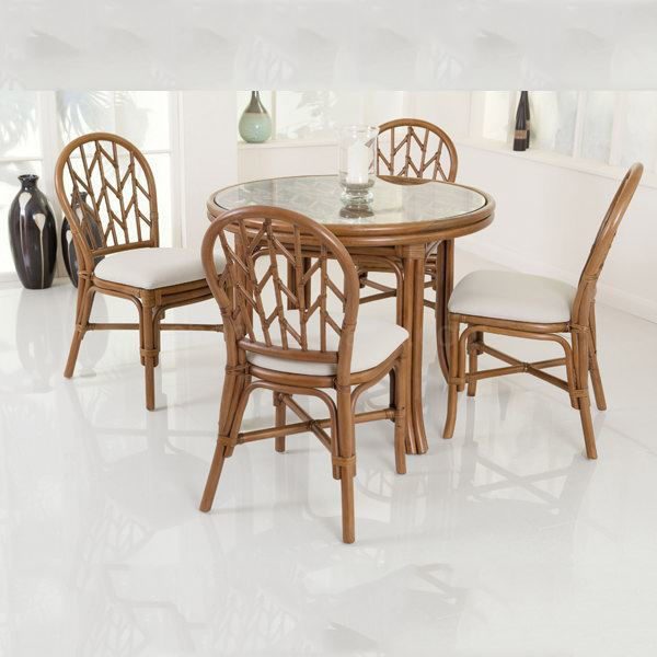 Charger Cane Dining Set