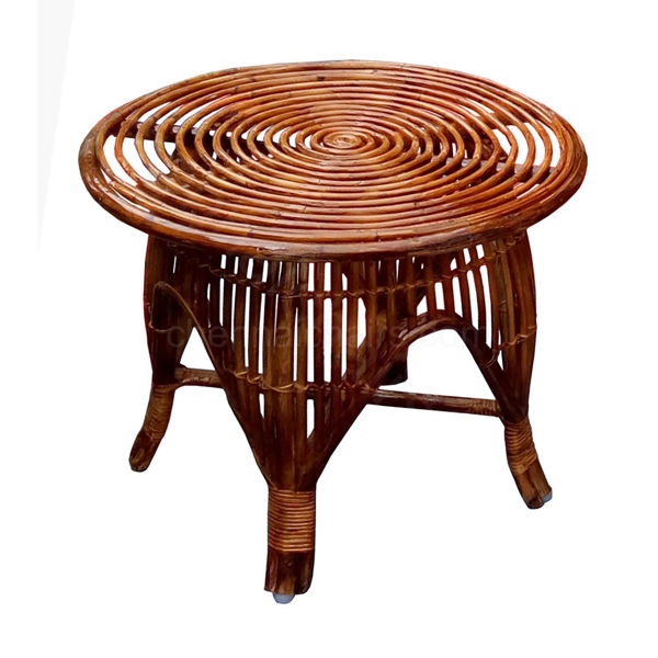 Moana Cane bed side Table