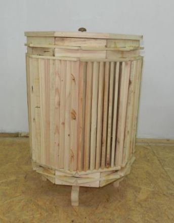 Picture of Bangus Wooden Laundry Basket