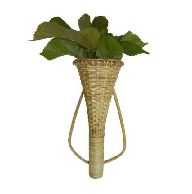 Cane Flower Stand