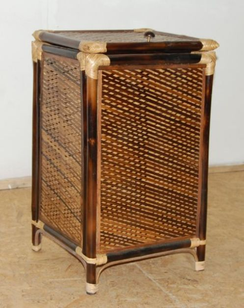 Picture of Javelin Bamboo Laundry Basket