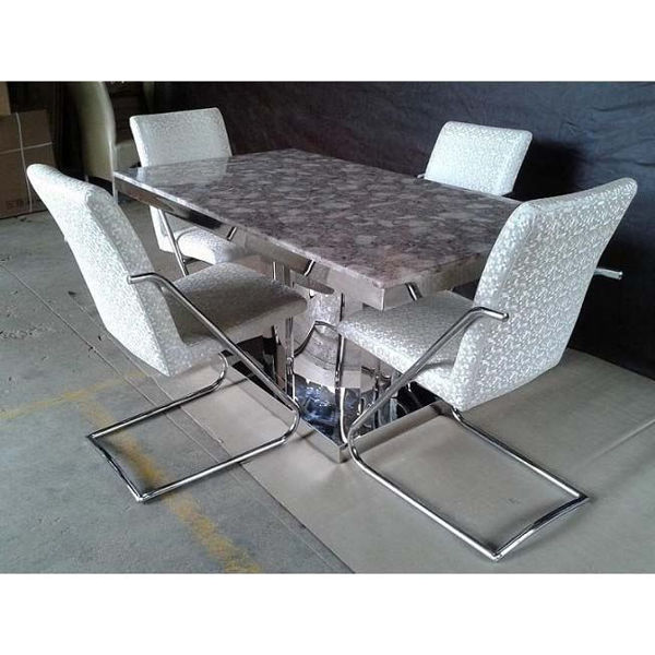 Picture of Vance Marble Dining Table