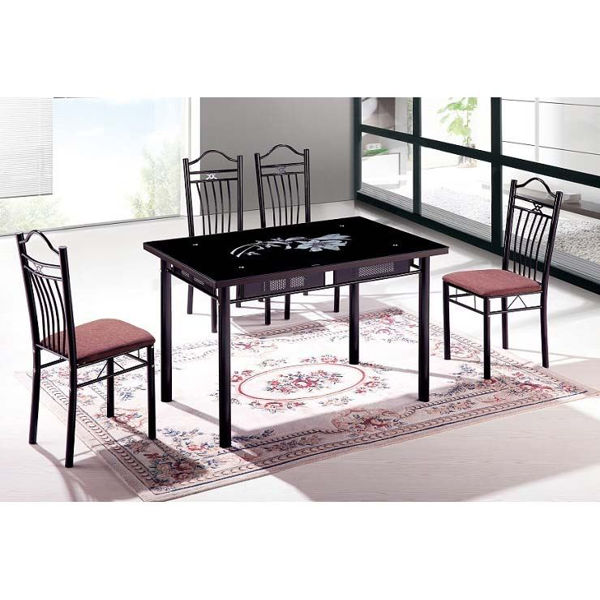Picture of Liana Glass Top Dining Table