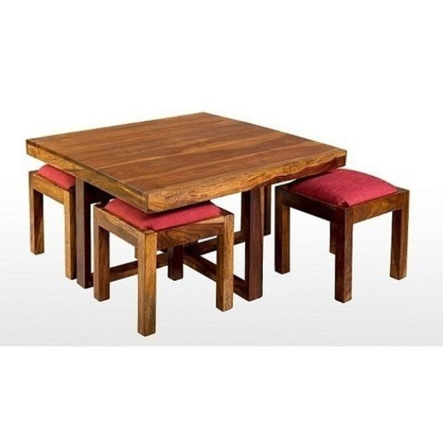 Picture of Wooden Coffee Table Set