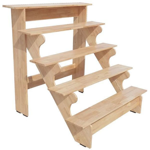 Solid Wood Golu Stand