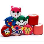 Picture of Kids Pouf Faux Leather