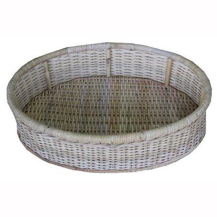 Tropicool Ovel Cane Basket