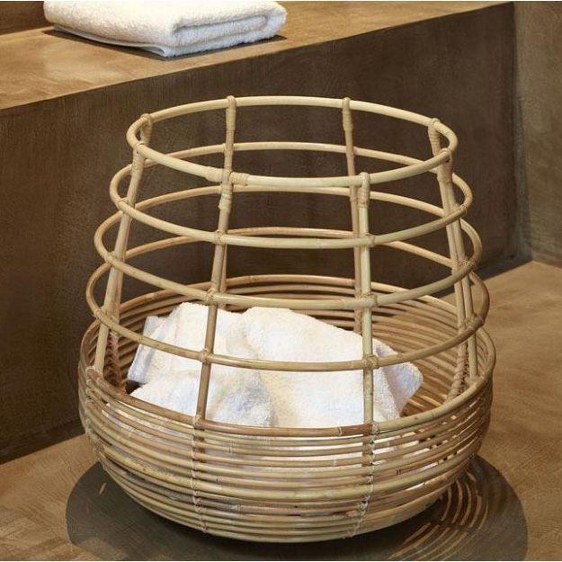 Aloft Cane Laundry Basket