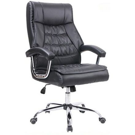 Dylan Leather Executive Chair - Black