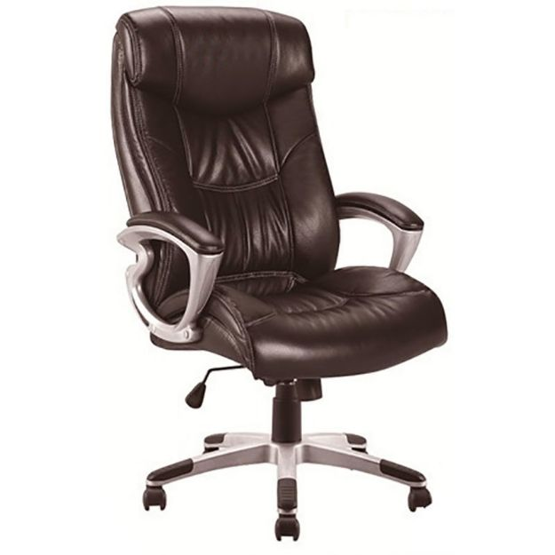 Tristan Leather Office Chair -Burgundy
