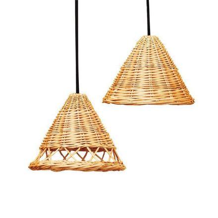 Panga Cane lamp shades