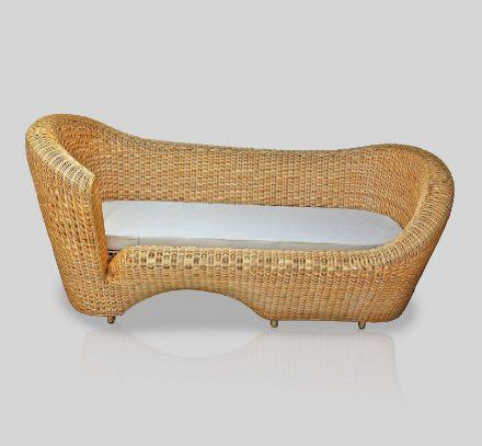 Bayleaf Cane Sofacum Bed
