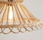 Keezi Cane lamp shades