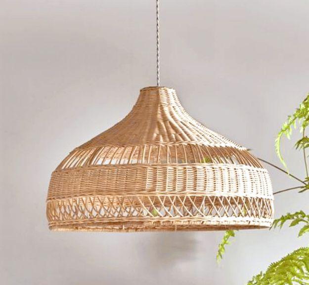 Indiana Cane lamp shades