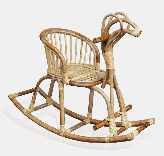 Kids Turkey Rattan Rocking Chair