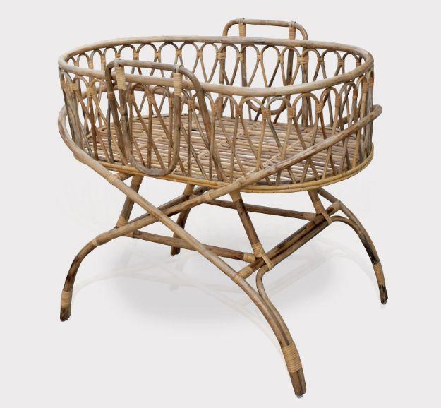 Ralph Rattan Baby Cradle