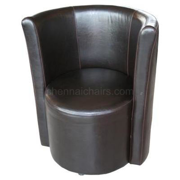 Picture of ERNEST BLACK TUB CHAIR