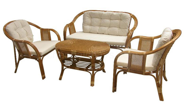 Picture of Kulo Cane Sofa Set