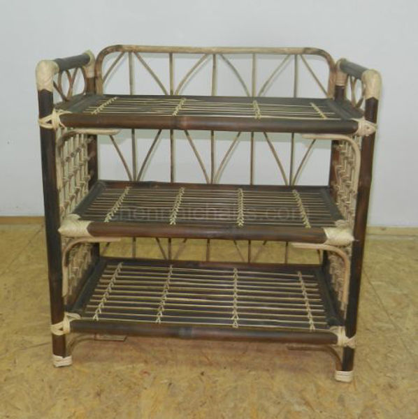 Picture of Deslor Bamboo Shoe Rack