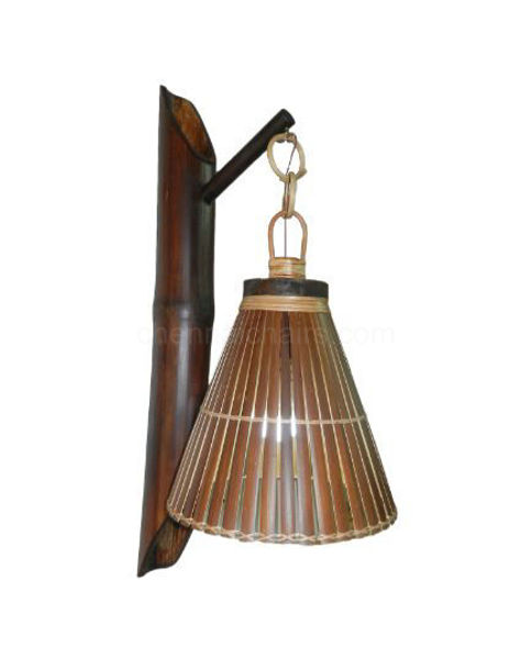 Picture of Opah Bamboo lamp shades