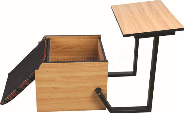 Picture of Bichair Study Desk
