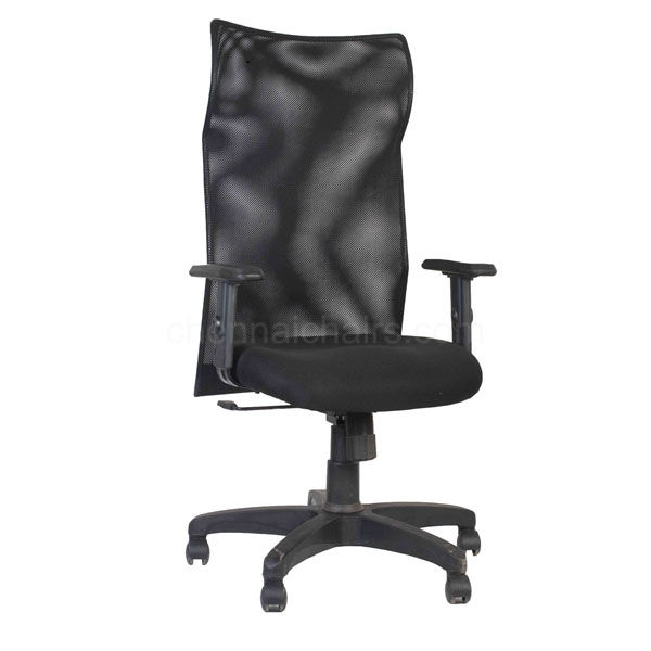 Picture of Kew Black Executive Mesh Office Chair