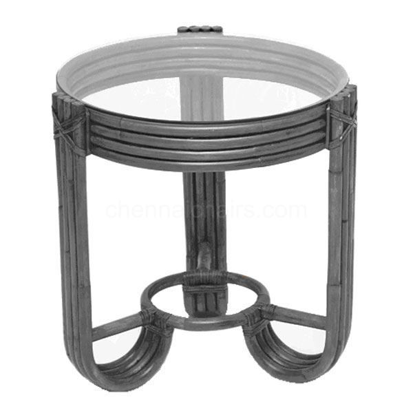 Picture of Panzer Cane Side Table