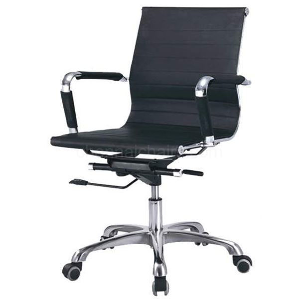 Picture of Eliza Black Medium Back Chair