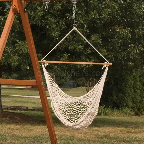 Picture of Lovejoy Hand Woven Rope Hammock Swing Chair