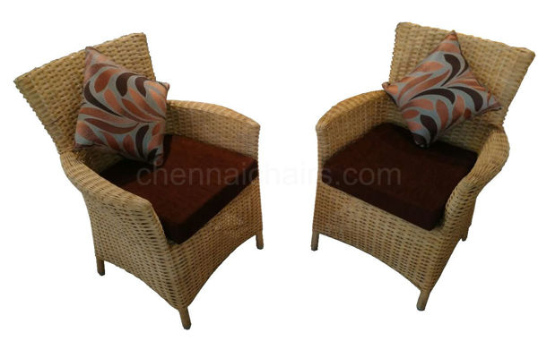 Picture of Hampton Cane Arm Chair Set