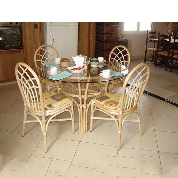 Lauren Cane Dining Set