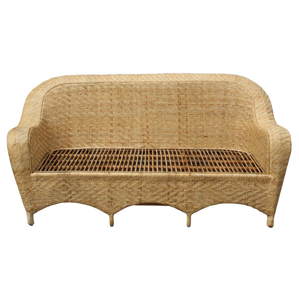 Senate Wicker Sofa Set