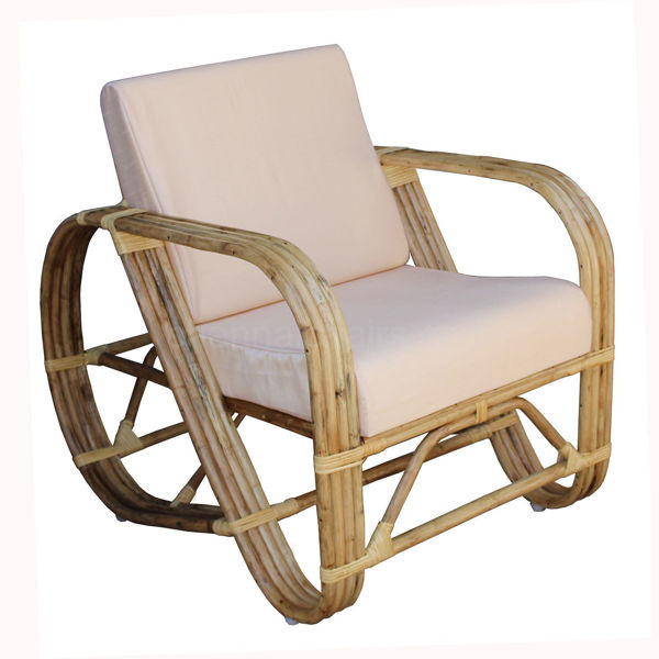 Beachcrest Cane Arm Chair