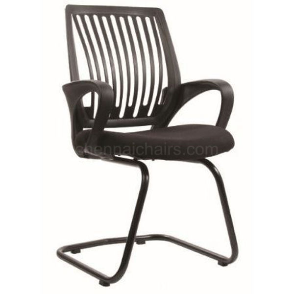 Creative Plastic Mesh Back Visitor Chair