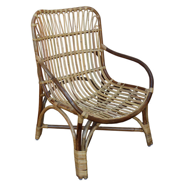 Ronnie Cane Arm Chair