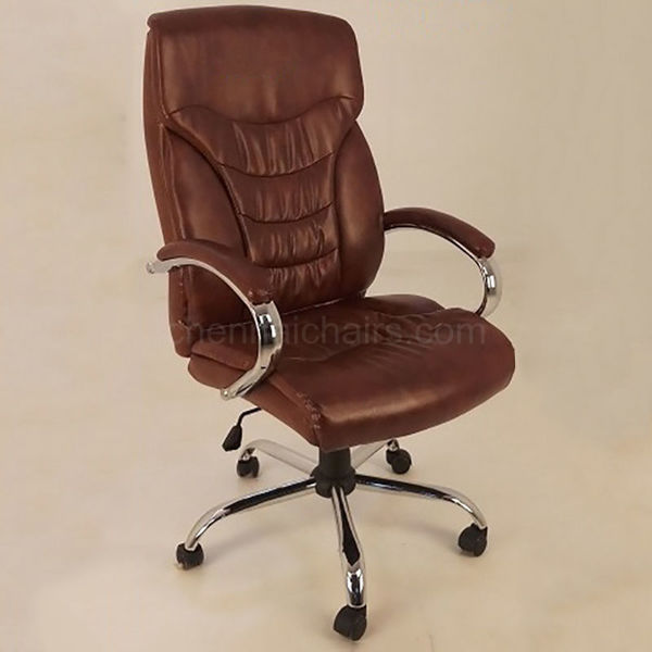 Rafael Leather Office Chair - Brown