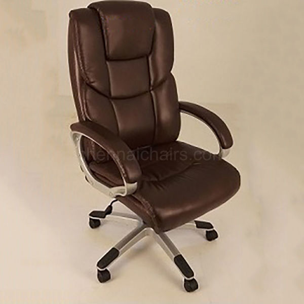 Fritz Leather Office Chair - Brown
