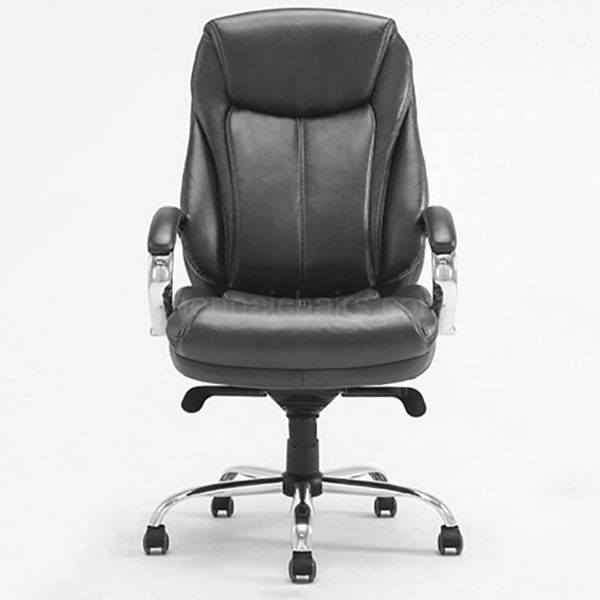 Superior  Leather Chair - Black
