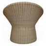Hourglass Rattan Core Woven Chair