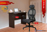 Combo of - HOFFICE WFH Laptop Desk 401 with Apollo Executive Mesh Office Chair