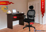 Combo of - HOFFICE WFH Laptop Desk 401 with Cobhamly Luxury Mesh Office Chair