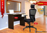 Combo of - HOFFICE WFH Laptop Desk 402 with Brixham High Back Mesh Office Chair