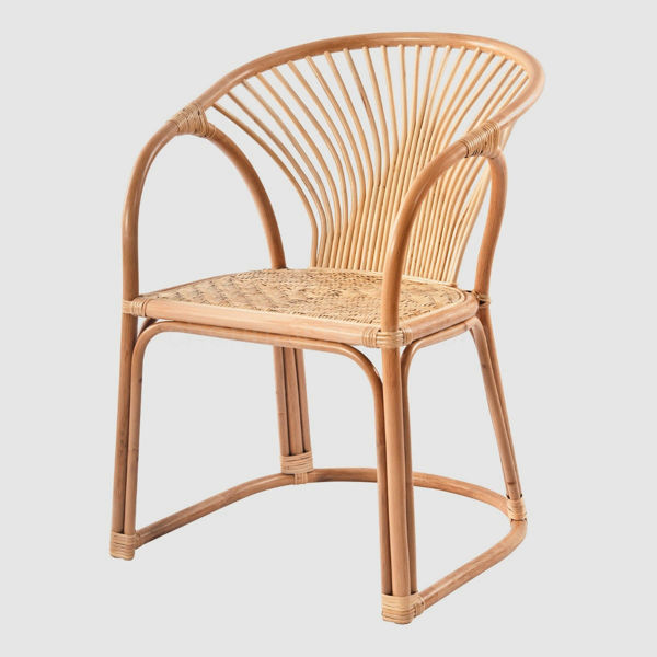 Evie Cane Dining Chair